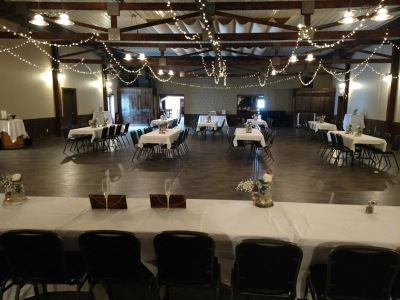 TinCan Banquet Hall Long Tables