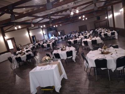 TinCan Banquet Hall Round Tables
