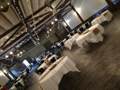 TinCan Banquet Hall Setup